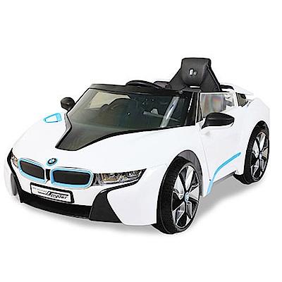 BMW/I8電動車/高端版(白)/兒童電動車