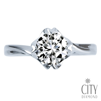 City Diamond『午茶戀香』50分鑽戒