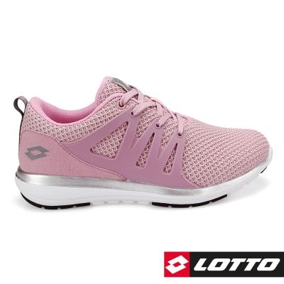 LOTTO 義大利 女 CITYRIDE潮流都會跑鞋-粉紅