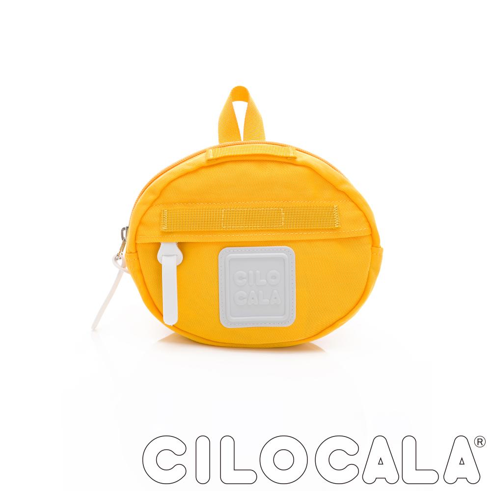 CILOCALA 亮彩尼龍防潑水MINI TAMAGO側背包(小) 黃色
