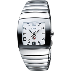 RADO 雷達 Sintra 銀鑽系列陶瓷機械腕錶