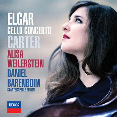 艾爾加-卡特-大提琴協奏曲-薇勒絲坦-大提琴-巴倫波因-指揮-柏林國家管弦樂團