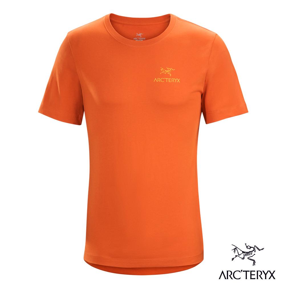 Arcteryx 始祖鳥 24系列 男 有機棉 短袖T恤 茶棕