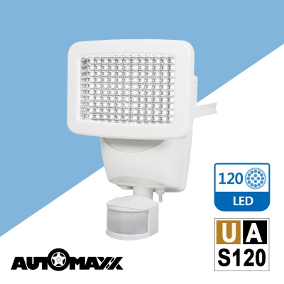 AUTOMAXX『翼神龍』活動式太陽能120LED感應照明燈 UA-S120
