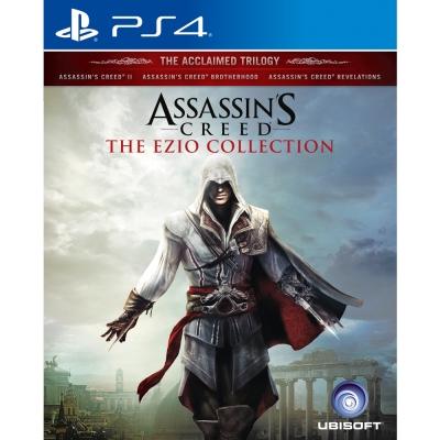 刺客教條:埃齊歐合輯 - PS4亞洲中文版