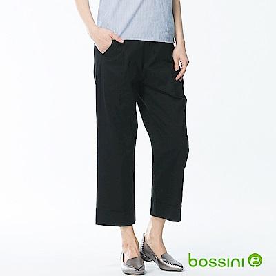 bossini女裝-彈力修身褲04黑