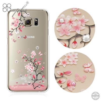 apbs Samsung Galaxy S6 edge 施華洛世奇彩鑽手機殼-日本櫻