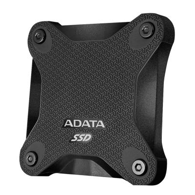 ADATA威剛 SD600 512GB USB3.1 外接式SSD行動硬碟-黑色