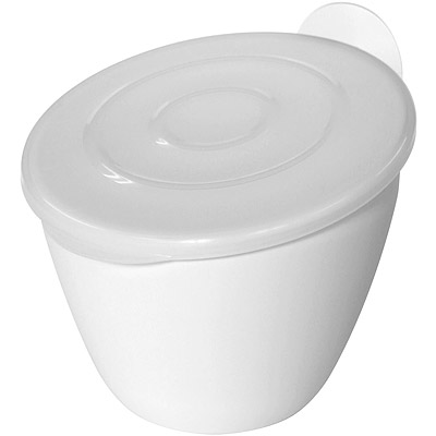 Sceltevie 吸盤廚餘桶(白)