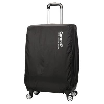 CARANY 卡拉羊 旅行箱箱套 防雨罩 保護罩 炫彩防塵套(黑/24吋)58-0033B