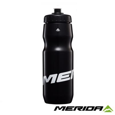 《MERIDA》美利達 臺灣製-自行車水壺 800cc 黑/白 2123003303