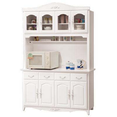 愛比家具 古典優雅5.3尺碗碟櫃全組