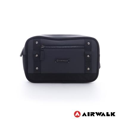 美國 AIRWALK 多功能單肩包四方腰包