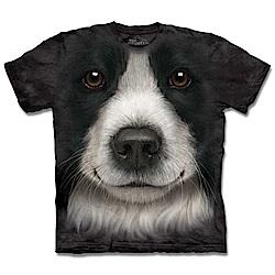 摩達客 美國進口The Mountain 邊境牧羊犬 純棉環保短袖T恤