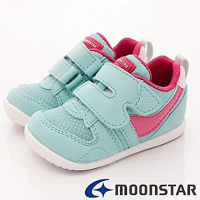 日本月星頂級童鞋 HI系列抗菌款 77S7 薄菏 (寶寶段)