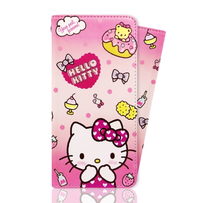iphone 6S plus 三麗鷗官方授權Hello Kitty 凱蒂貓彩繪皮...