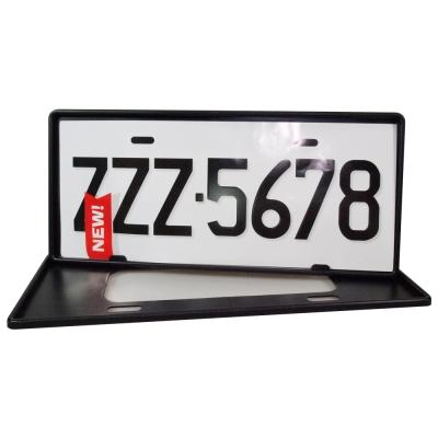 安伯特 最新7碼汽車牌框(黑) (一組2入)