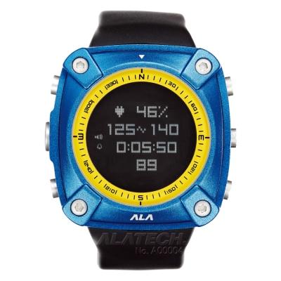 ALATECH 新版 OP100 專業 心率錶 登山錶 -寶石藍