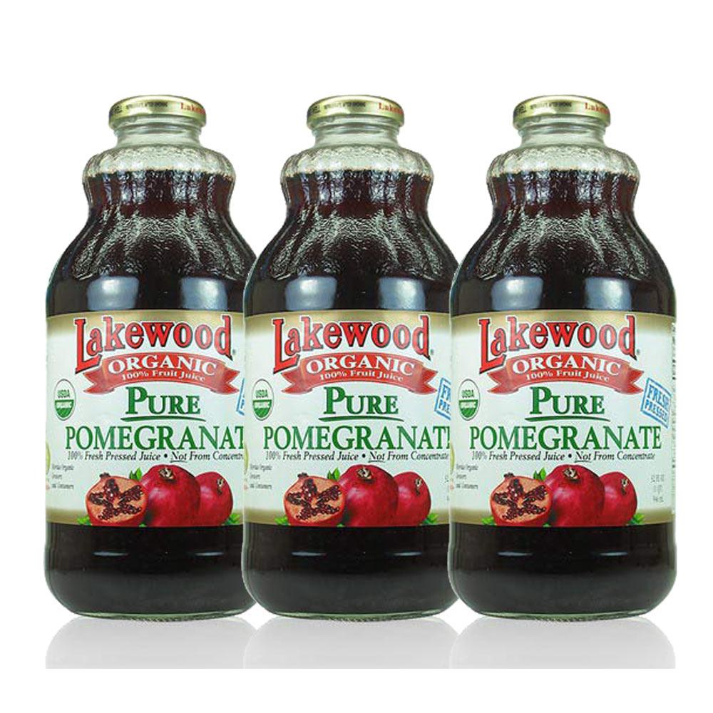 《O'natural 歐納丘》天然鮮榨純石榴果汁(3瓶裝)