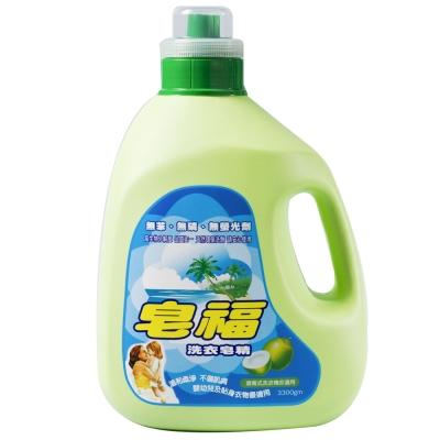 皂福洗衣皂精3300g