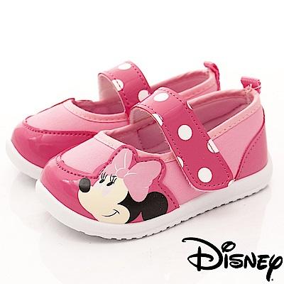 迪士尼童鞋 米妮休閒娃娃鞋款 FO64401粉 (中小童段)