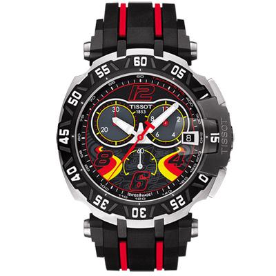 TISSOT 天梭 T-RACE STEFAN BRADL 限量計時腕錶-45mm
