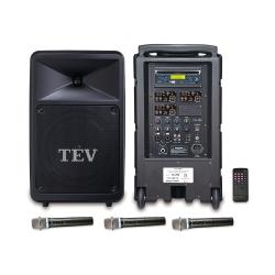 TEV CD/USB/SD三頻無線擴音機 TA780C-3
