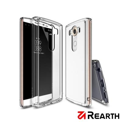 Rearth LG V10 (Ringke Fusion)高質感透明保護殼(贈送...