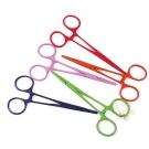 彩色不鏽鋼寵物專業用止血鉗-直式/彎式 1入