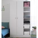 EASY HOME 二門六層收納衣櫥-白色