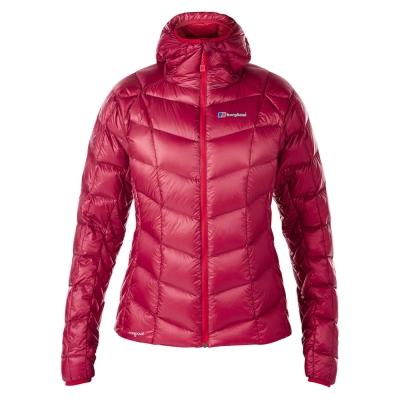 【Berghaus貝豪斯】女款ILAM 頂級溫度調節防潑水鵝絨外套F22F08紅