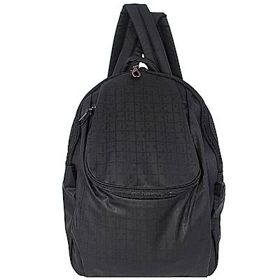 YAMATOYA RaviRavi 防水輕材質系列多功能後背包(黑)