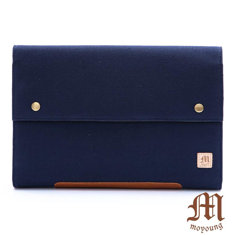 Moyoung 都會美學多功能保護套收納包(大尺寸)  牛仔藍