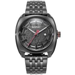 BENTLEY 賓利 Solstice系列 漫步月球手錶-黑/45mm