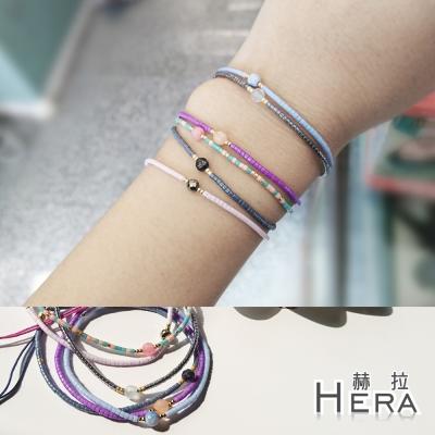 Hera 赫拉 日本進口米珠極細串珠手鍊(6款)