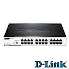 D-Link友訊 DGS-1024D 24埠 Gigabit 節能型交換器