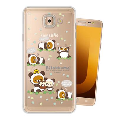 日本授權正版 拉拉熊 Samsung Galaxy J7 Max 變裝系列手機殼...