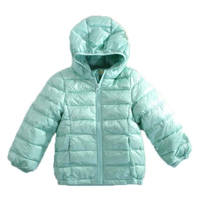 輕量極保暖90%羽絨外套 綠 k60453魔法Baby