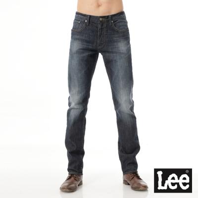 Lee 牛仔褲 726 中腰標準小直筒-男款深藍