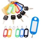 買15送5_kiret 多功能 分類牌-鑰匙分類 套房號碼牌 多色隨機