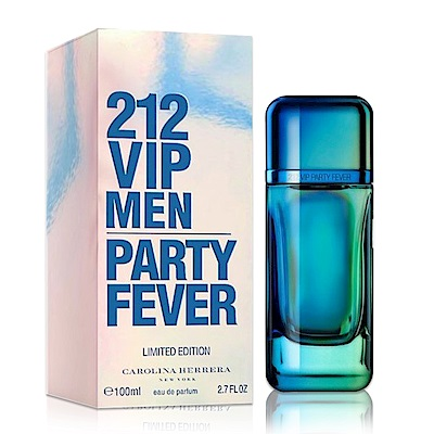 Carolina Herrera  212 VIP PARTY狂熱派對男性淡香水100ML