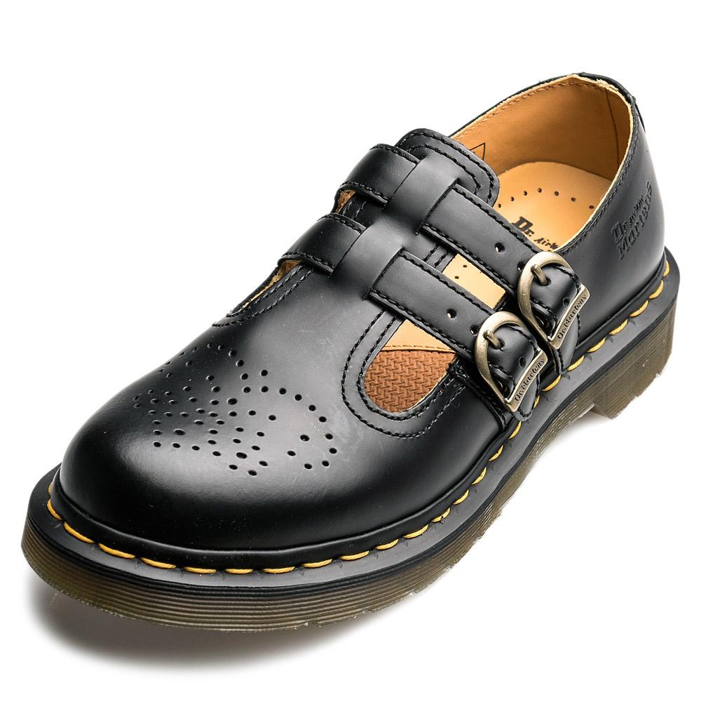 Dr.Martens-經典8065MARY JANE橫帶雙扣瑪莉珍鞋-女款-黑色