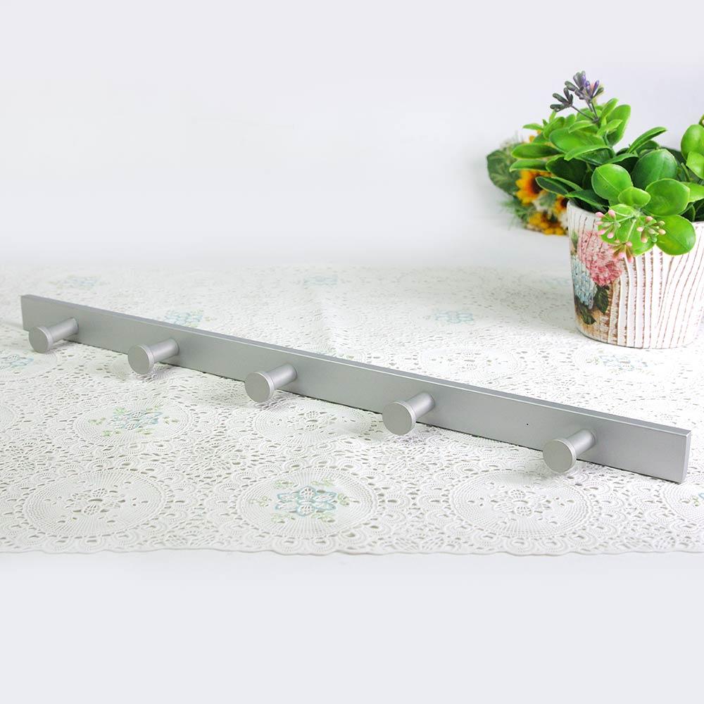 歐奇納 OHKINA 鋁製霧面掛衣勾x2組-五勾
