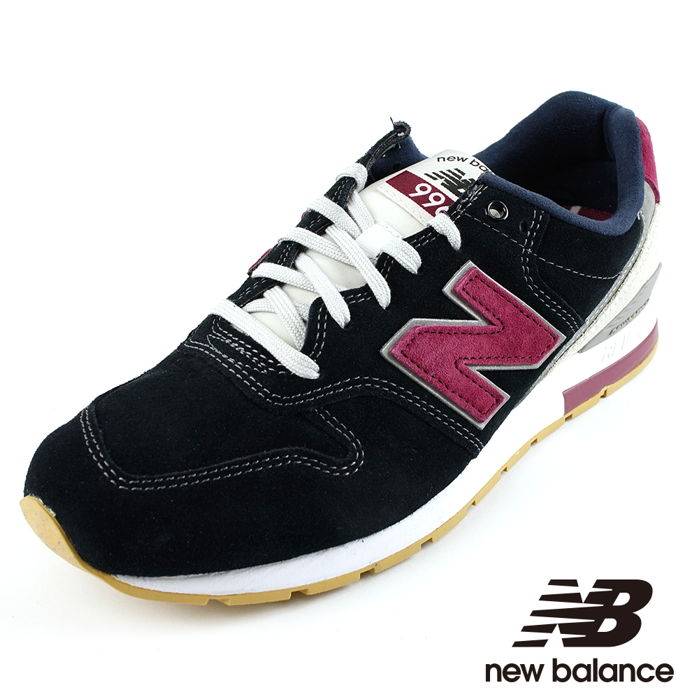 NEW BALANCE996運動鞋男MRL996ND黑紫色