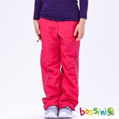 bossini女童-高效熱能雪褲-5亮桃紅