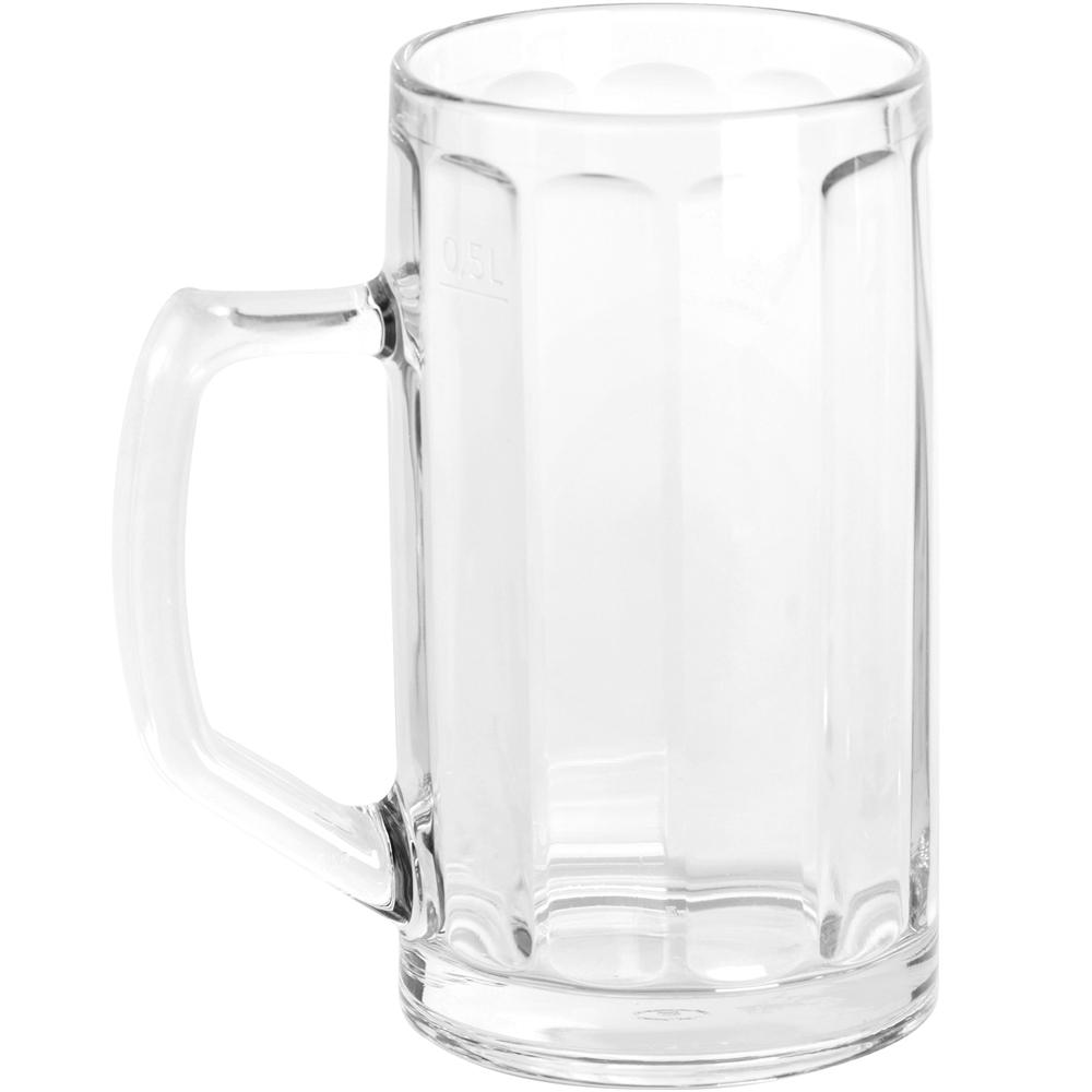 EXCELSA 經典直紋啤酒杯(500ml)