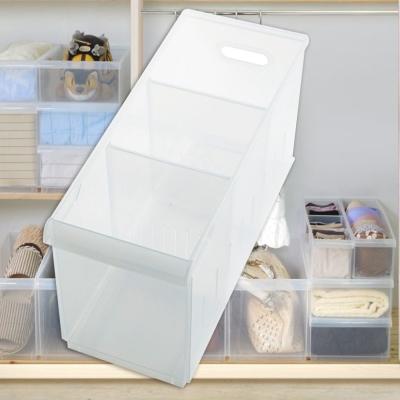 [愛收納]積木式 Fine03隔板整理盒(附輪)一入