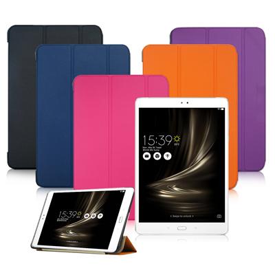 VXTRA 華碩 ZenPad 3S 10 Z500KL經典皮紋三折保護套