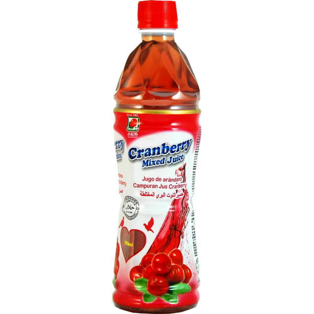 生活 小紅莓綜合果汁(520mlx24入)