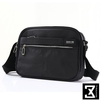 74盎司  素面多功能側背包[G-162]黑色